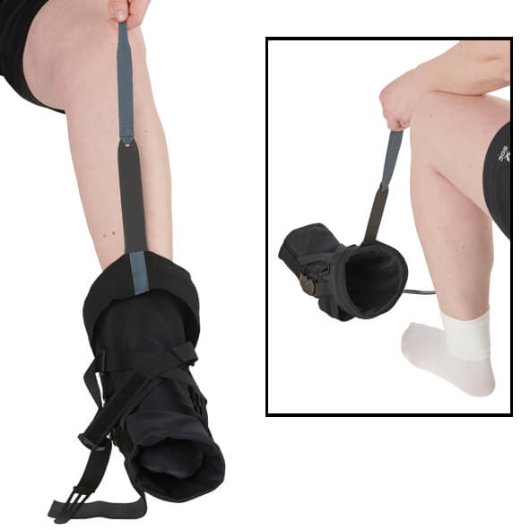 CROSS™ Semi-Rigid Knee Orthosis for Hyperextension Control